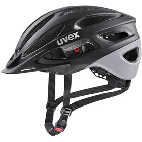UVEX True CC Helmet, black/grey matt
